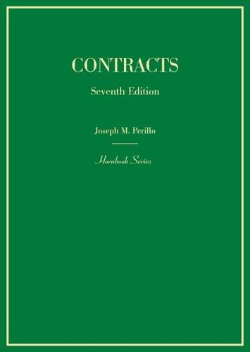Contracts (Hornbooks)