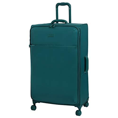 it luggage 32' Lustrous Softside Expandable Spinner, Harbor Blue