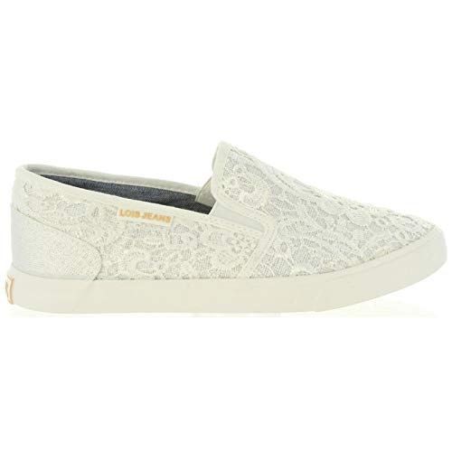 Zapatos de Mujer LOIS JEANS 61139 R1 06 Blanco Talla 39