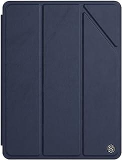 جراب جلد بمبرد لجهاز ابل ايباد 10.2 2019/2020 من نيلكين - أزرق