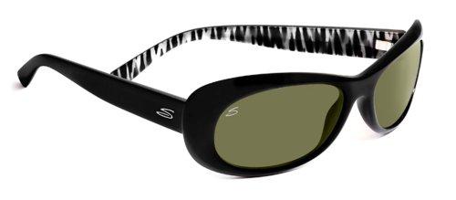 Serengeti Gafas de sol Bella Lens: 555nm, Negro