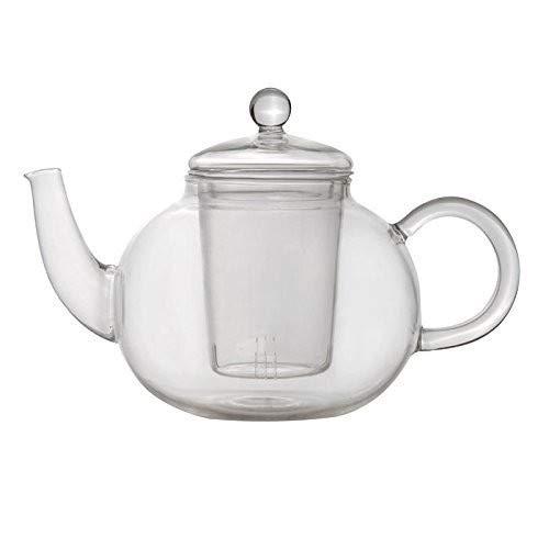 Berghoff 1107037 Teekanne, Hitzebeständiges Glas, transparent