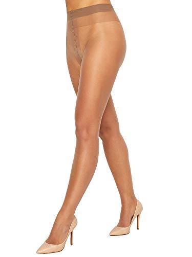 DKNY Women's Nudes Sheer to Waist, Ercu Beige, Medium