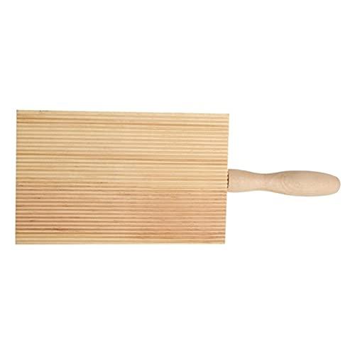 Fideos, Mesa de Mantequilla de Madera y paletas de Hielo para Hacer fácilmente una auténtica Pasta casera, Mantequilla, Tablero de Pasta, Rodillo para ñoquis