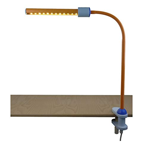 Niermann Standby LED Klemmleuchte, pastellorange-eisblau 239