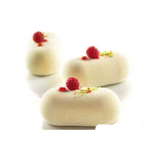 Cuisineonly - Moule silicone 8 ovales bombés ovale. Cuisine : Autour De La Pâtisserie (moules En Silicone)