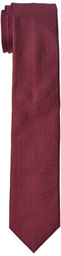 HUGO Herren Krawatte Tie Cm 6, Dark Red (602), Einheitsgröße
