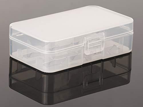 Keeppower Aufbewahrungsbox D4 für 20700/21700 robuste und rutschfeste Ausführung 87x49x25mm