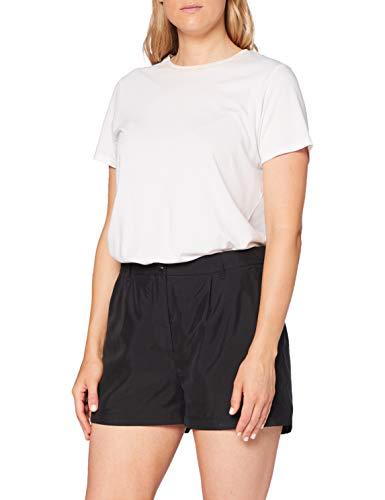 Calvin Klein Jeans Damen Tencel Short, Schwarz (CK Black BAE), 32 (Herstellergröße: X-Small)