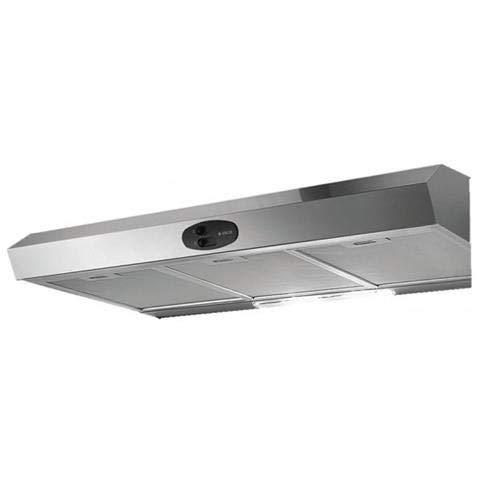 Elica Krea ST IX F/90 Semi-intégrée (semi-encastrée) Acier inoxydable 270m³/h - Hottes (270 m³/h, recirculation, 60 dB, Semi-intégrée (semi-encastrée), Acier inoxydable, 40 W)