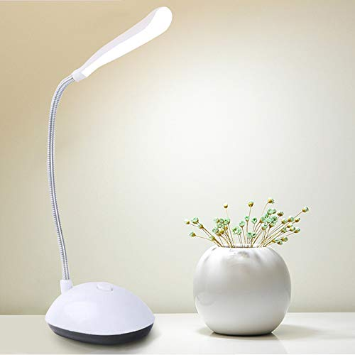 CWEN Lámpara Lámpara Lámpara Mesa Escritorio Lámpara Lámpara Lámpara Lámpara Dimmable Plegable AA Tabla de Batería A La Luz 4 LED Lámpara portátil Flexo Light Light