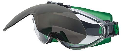 Uvex Ultrasonic Schweißerschutzbrille - flip-up - Supravision Excellence - Grau/Grün-Schwarz