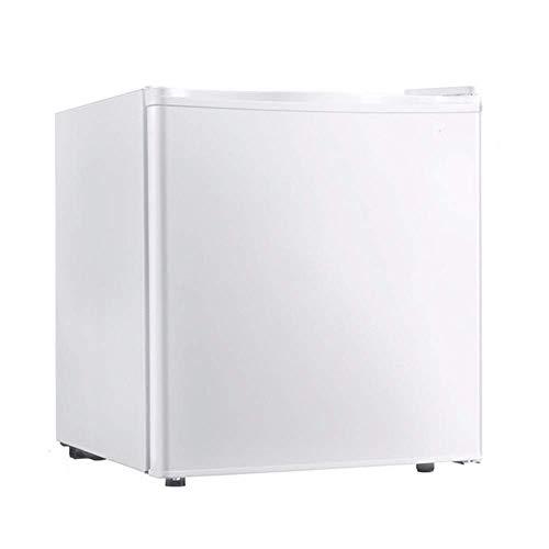 FMOGE Mini Nevera Mini Nevera Blanco |Modelo De Mesa |Refrigerador De Encimera |Puerta Sólida con Hielera |Refrigerador Compacto |Baja Energía A ++ (50L)