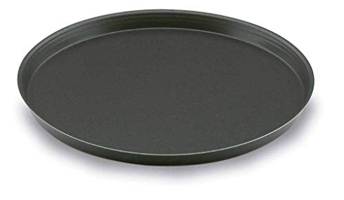 LACOR Aluminium antiadhésive Moule à Pizza, 36 cm, Noir