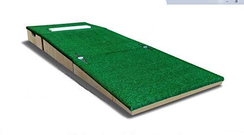 6 Inch Portable Youth Baseball Pitching Mound w/Modular Base