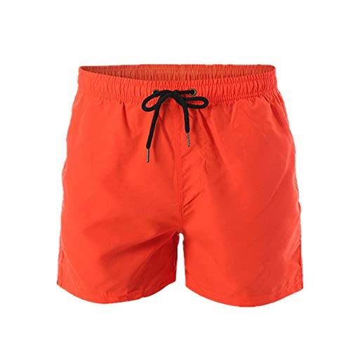 Pantalones cortos de algodón puro casual de los hombres negros ropa casual