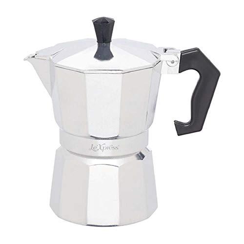 Kitchen Craft LeXpress italiensk espressokanna för 3 koppar