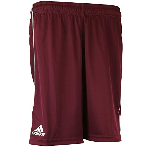 Adidas Mens Utility Short Without Pockets L Maroon-White