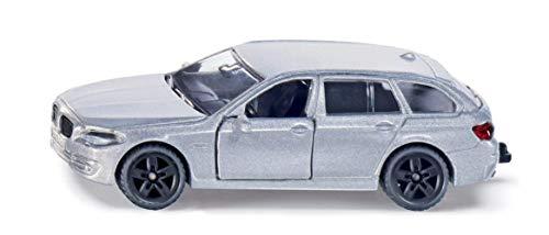 SIKU 1459, BMW 520i Touring, Metall/Kunststoff, Blau, Öffenbare Türen, Spielzeugauto für Kinder