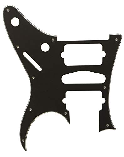 Partes de guitarra para Ibanez RG 770 DX Style Guitarra Golpeador, 3 capas negras.