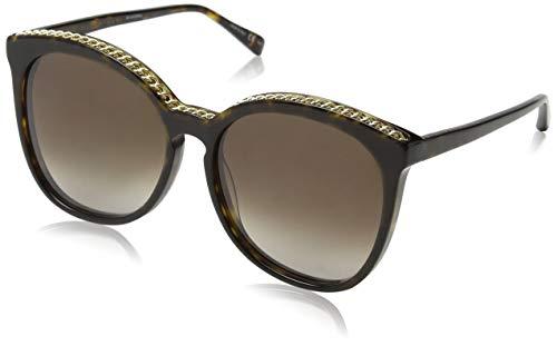 Stella McCartney SC0074S 002 Gafas de sol, Marrón...