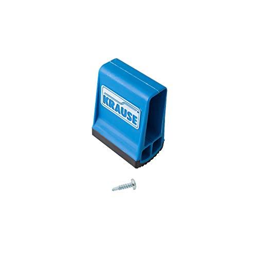Unbekannt–Krause Traversenfußkappe blau 64x 25mm