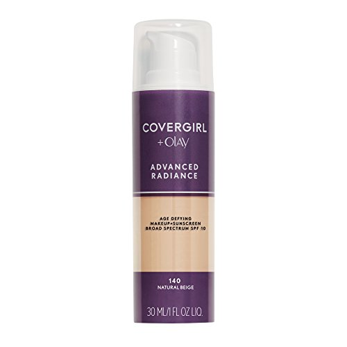 CoverGirl Advanced Radiance Age-Defying Makeup - Anti Ageing Grundierung - aus uSA (Natural Beige)