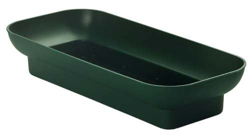 Floral Arrangement - Double Design Bowls for Oasis Floral Foam (10' Pine Green)