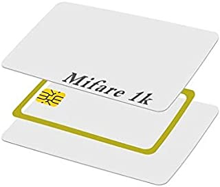 Mifare 1k Classic Printable PVC Cards. Ideal for Access Control, Attendance, Visitor Management & other purposes. Pack of ...