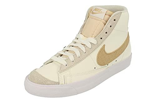 Nike Blazer Mid 77 Hombre Trainers DH4106 Sneakers Zapatos (UK 6.5 US 7.5 EU 40.5, Sail Sesame White 100)