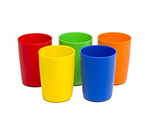 5-Pc Set Greenco Unbreakable Reusable Plastic Kids Cups $8.84 + Free shipping w/ Prime