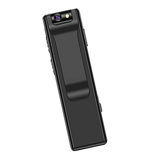 MERIGLARE Cámara Digital CAM Grabadora de Video Recargable para Uso Corporal Detección de Movimiento Grabación rápida portátil para Deportes al Aire