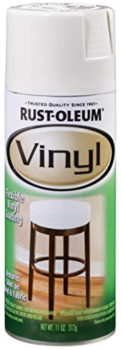 Rust-Oleum 1911830 Vinyl Spray, 11 oz, White