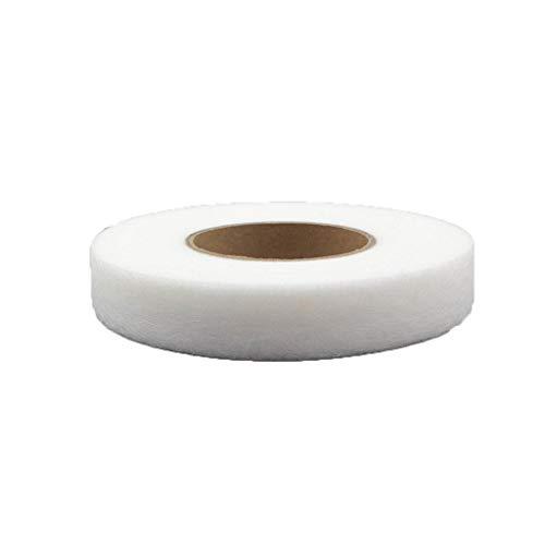MagiDeal Entretela de Dobladillo Adhesivo de Cinta de Fusible Blanca para Accesorios de Costura Artesanales de Tela de Bricolaje 70 Yardas - 1cm