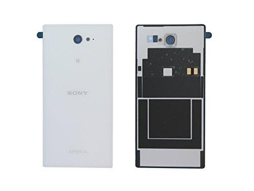 Auténtica Sony D2305, D2306Xperia M2Blanco Cubierta de la batería y NFC–78P7110002N