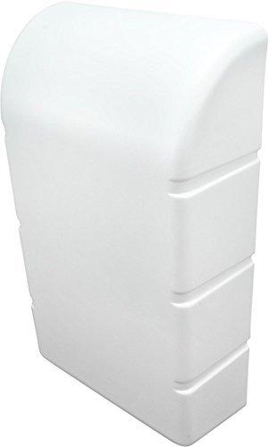 Gedotec Ironfix Premium Strijkplank, inklapbaar, met grijze strepen, 180 graden draaibaar, staal RAL 9016 Moderne opklapbare strijkplank. Ironfix Abdeckkappe