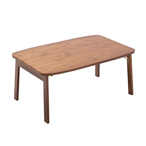 Tables Basse Pliante en Bambou À Fenêtre Simple Lit Paresseuse Salon Basse Basse Maison Restaurant Petite D'ordinateur Basses