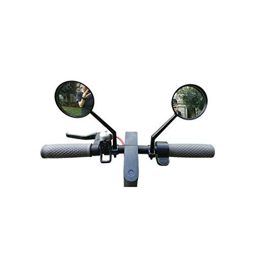 Tinke Specchietto retrovisore Regolabile per specchietto retrovisore Regolabile in Vetro per Xiaomi Mijia M365 Ninebot ES1 ES2 Scooter