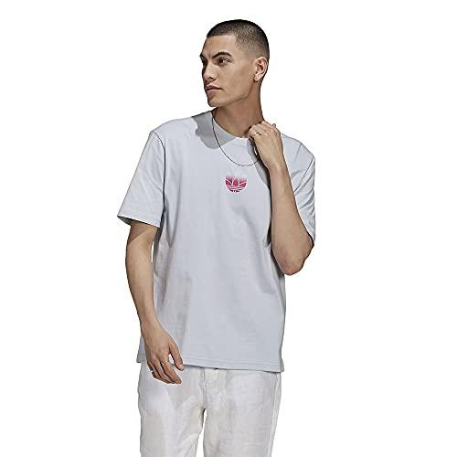 adidas GN3540 3D TF OM tee T-Shirt Mens halo Blue M