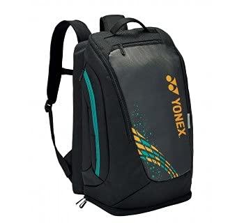 YONEX PRO Backpack 92012 Badminton Squash Tennis Camel/Gold