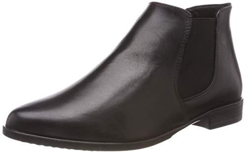 Tamaris Damen 25097-21 Chelsea Boots, Schwarz (Black Leather 3), 37 EU