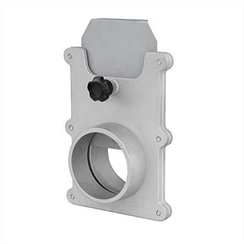 POWERTEC 70134 2-1/2-Inch Aluminum Blast Gate for Vacuum/Dust Collector