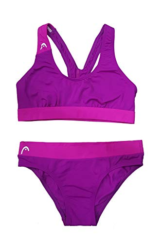 HEAD SWS Volley Damen Badeanzug Bikini PBT 42 Rosa (MG)