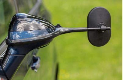 EMUK 100903 - Juego de 2 espejos retrovisores para caravana