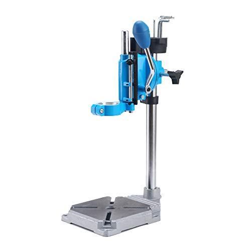Learn More About LXB Drill Press Rotary Tool Workstation Stand with Wrench, Mini Portable Drill Pres...