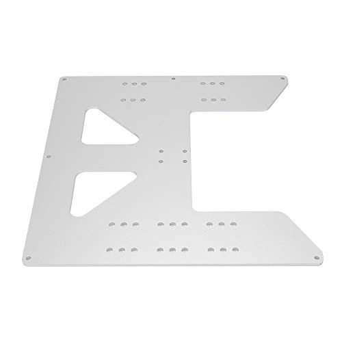 FYSETC Anet A8 Parts, Plate 8.6 x 8.6 inch Anodized Aluminum Y Carriage Plate for 3D Printer Anet A8 A6 i3 Heatbed DIY Support