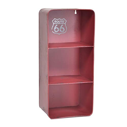 Vacchetti Giuseppe 6442150000 Estante, Metal, Rojo, Piccolo