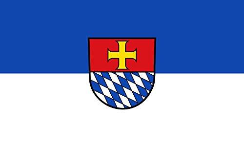 Unbekannt magFlags Tisch-Fahne/Tisch-Flagge: Heiligkreuzsteinach 15x25cm inkl. Tisch-Ständer