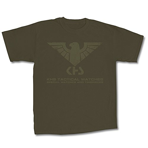 KHS T-Shirt Tactical Gear | T-Shirt (L, Oliv | Oliv) | KHS.TS3.L