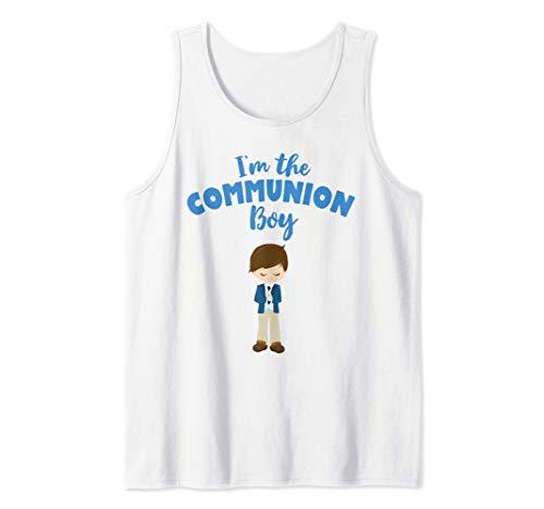 Hombre Regalo de Primera Comunión para Morena Chicos 2020 Camiseta sin Mangas